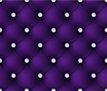 upholstered: Luxury purple velvet background Illustration