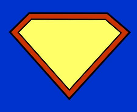 Fond de super-héros Banque d'images - 18454750