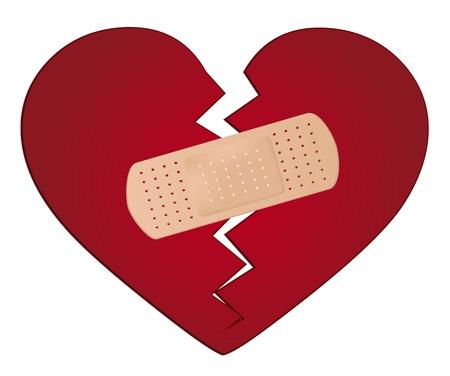abandono: Fijar un concepto coraz�n roto
