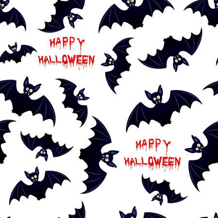 vlad: Halloween bat - seamless background