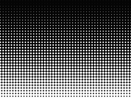 Halftone background  Black-white Stock Vector - 23548461