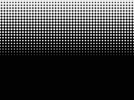 Halftone background  Black-white