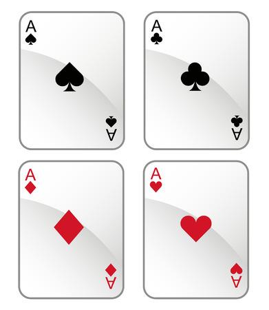 카드 놀이 일러스트