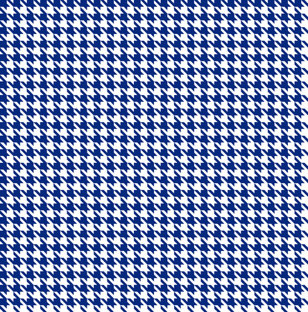 Blue-white houndstooth background -seamless Illustration