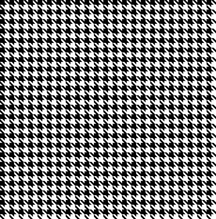 Black-white houndstooth background -seamless