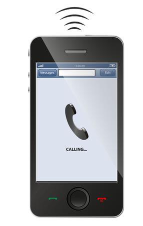 Smart phone sonnerie Illustration
