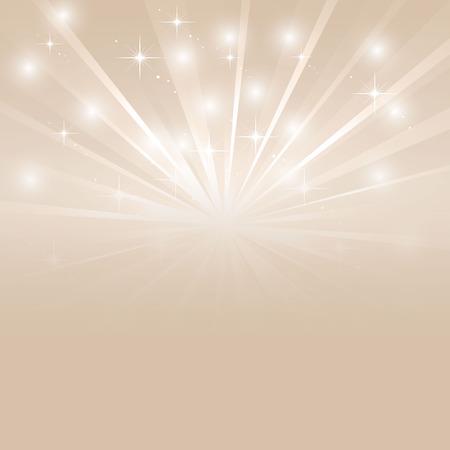 Sunburst brillant avec des étincelles