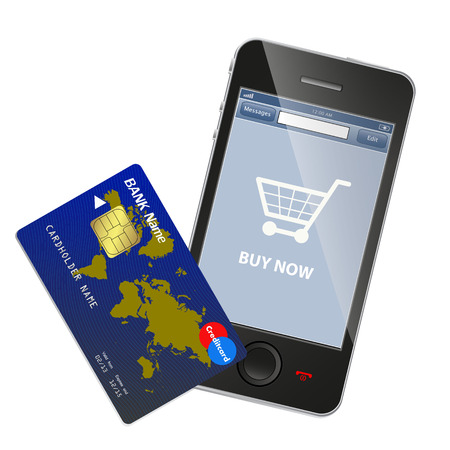 anywhere: Internet shopping concept