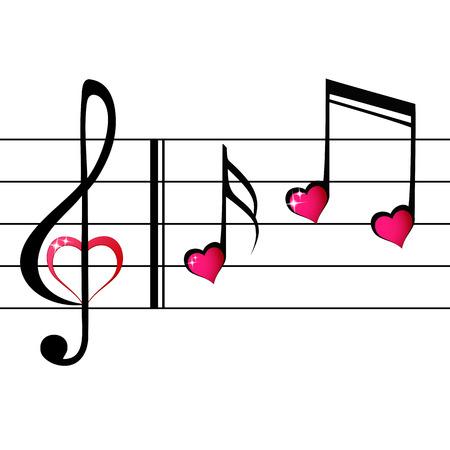 amour de la musique - le concept