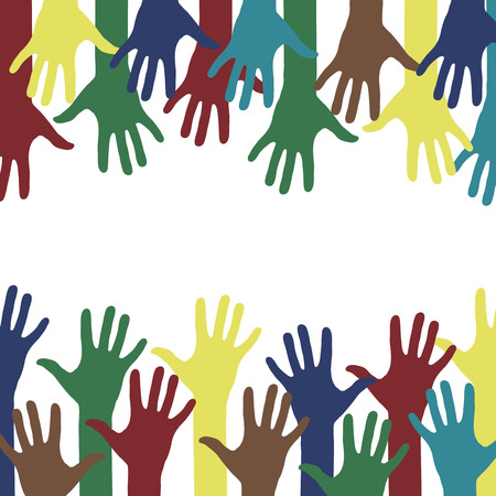 participation: Hands background