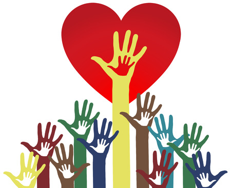 parents and child: Parents - child - love concept