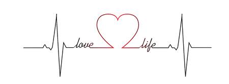 love of life: Amore battito cardiaco vita