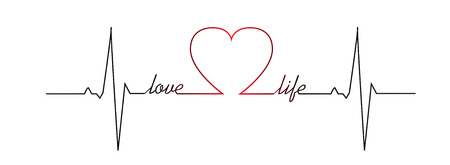 love life: Love life heart beat