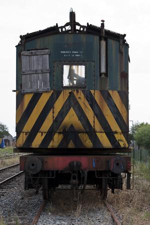Gare ferroviaire abandonnée sur