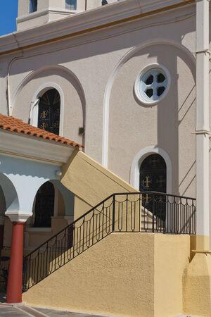 église dans la ville de Kos, Grèce
