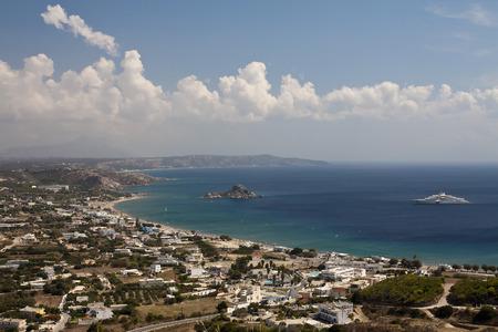 Vue sur la baie de Kefalos; Kos; Grèce