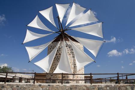Moulin à vent dans Andimahia, Kos; Grèce