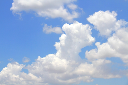 sparse: White sparse clouds over blue sky