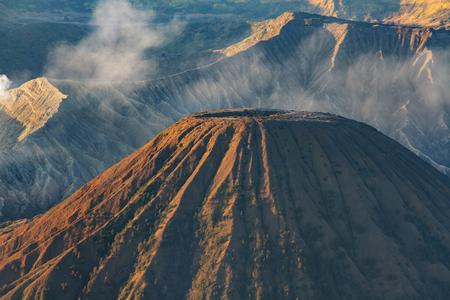 active volcano: Mt. Bromo volcano in Java, Indonesia