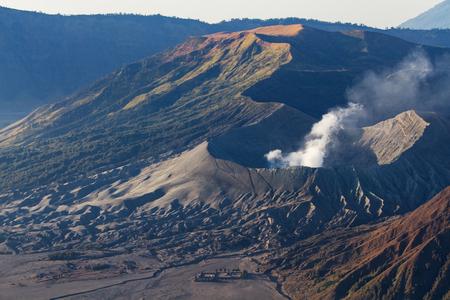 tengger: Mount Bromo volcano during sunrise, Tengger Semeru National Park, East Java, Indonesia.