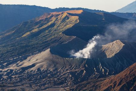 tengger: The magnificent view of Mt. Bromo located in Bromo Tengger Semeru National Park, East Java, Indonesia.