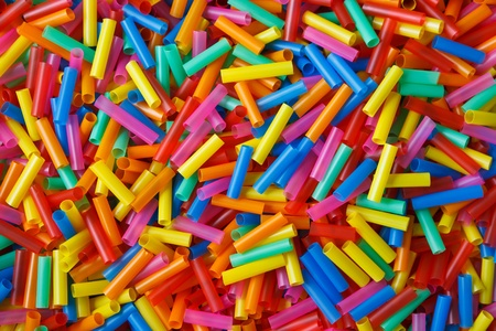 colorful straw: colorful of plastic straws
