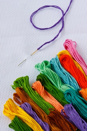 stitches: cross-stitch