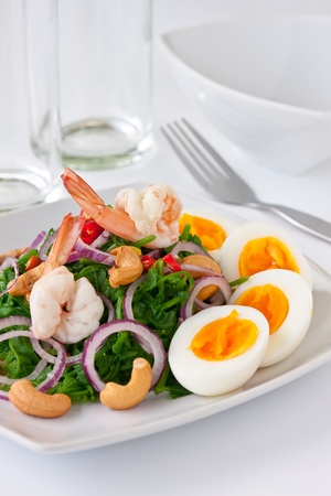 Fern salad photo