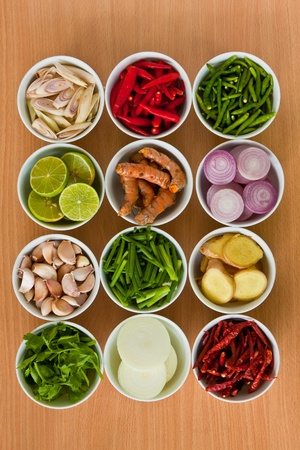 Thai food Ingredients  Stock Photo - 9660040