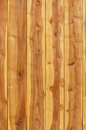 sawed: Brown wood plank wall texture background