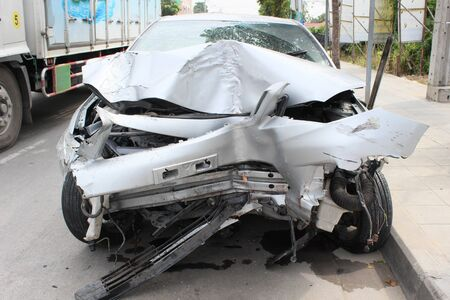 total loss: car accident