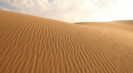 sand dunes and cloudless sky Stock fotó