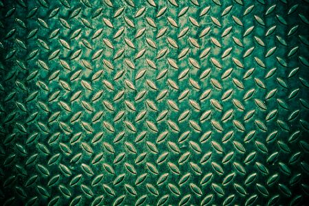 green diamond metal plate background  photo