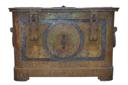 old treasure chest  photo