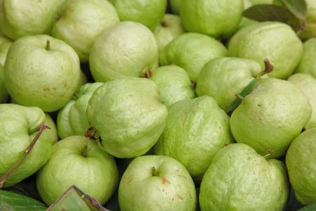 Fresh guavas texture  photo