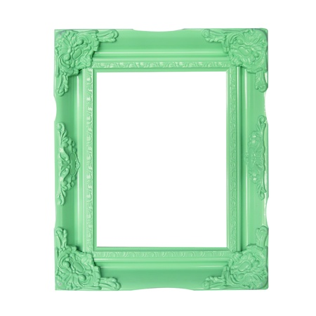 green  picture frames photo