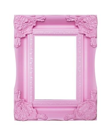 pink picture frames Фото со стока - 22064762