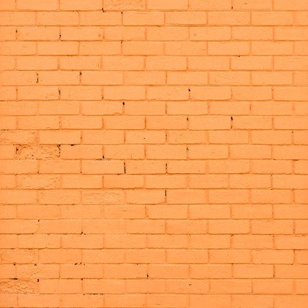 Orange brick wall texture photo