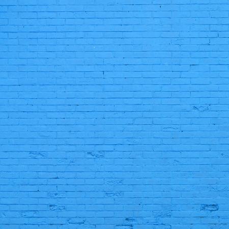 blue brick wall texture photo