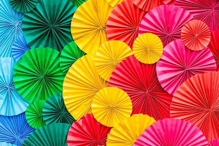 Colourful Paper background photo