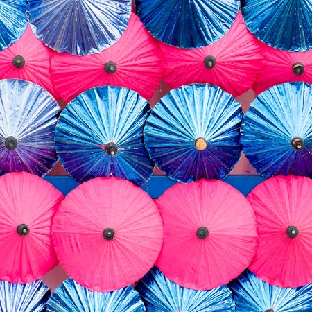umbrellas background photo