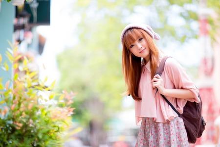 Beautiful asian girl Stock Photo