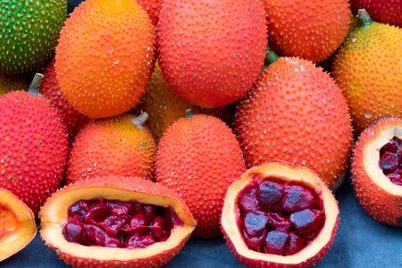 lycopene: Gac Fruit (Momordica cochinchinensis)