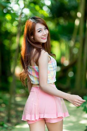 Beautiful asian girl Фото со стока
