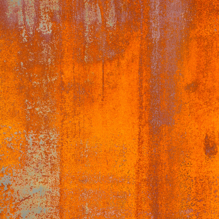 Background texture of Rusted steel Stock Photo