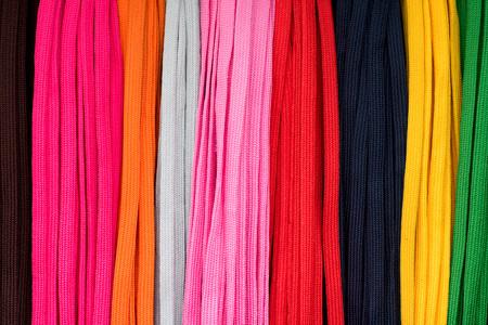 shoelaces: colourful shoelaces background