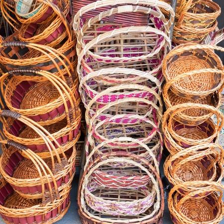 osier: bamboo basket