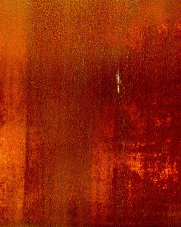grooved: rusty corrugated iron metal texture