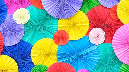 Colourful Paper background Stock Photo