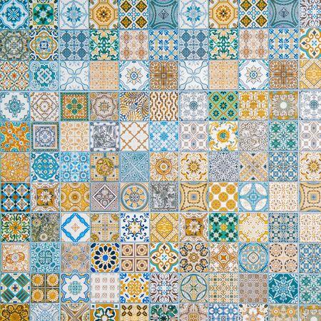 motifs de carreaux de céramique